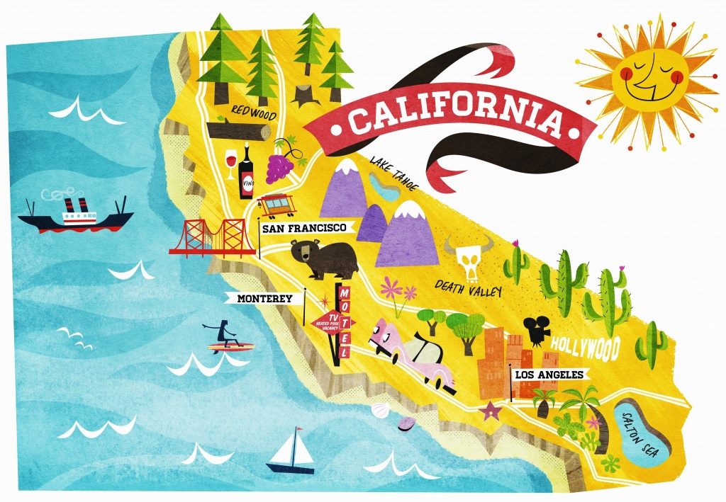 California Sights – How Many Have You Visited? In Map Of Things To - California Things To Do Map