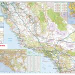 California Southern Wall Map Executive Commercial Edition   Large Map Of Southern California