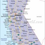 California State Map   Map Of California Usa With Cities