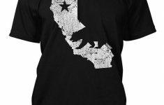 California State Map Men's T Shirt Tee T Shirts Tees T Shirt From – California Map Shirt