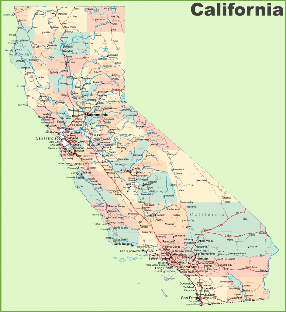 California State Maps   Usa   Maps Of California (Ca) - California Map With States