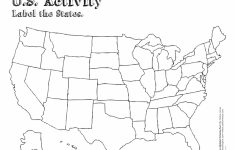 Usa Map Printable Pdf