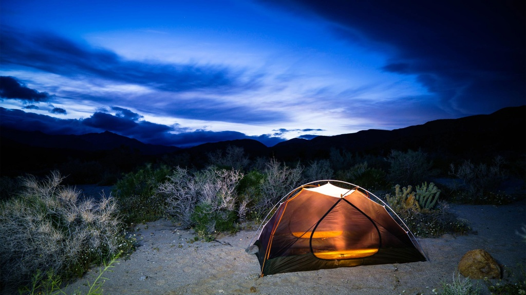 California State Parks - California State Parks Reservation System - California Tent Camping Map