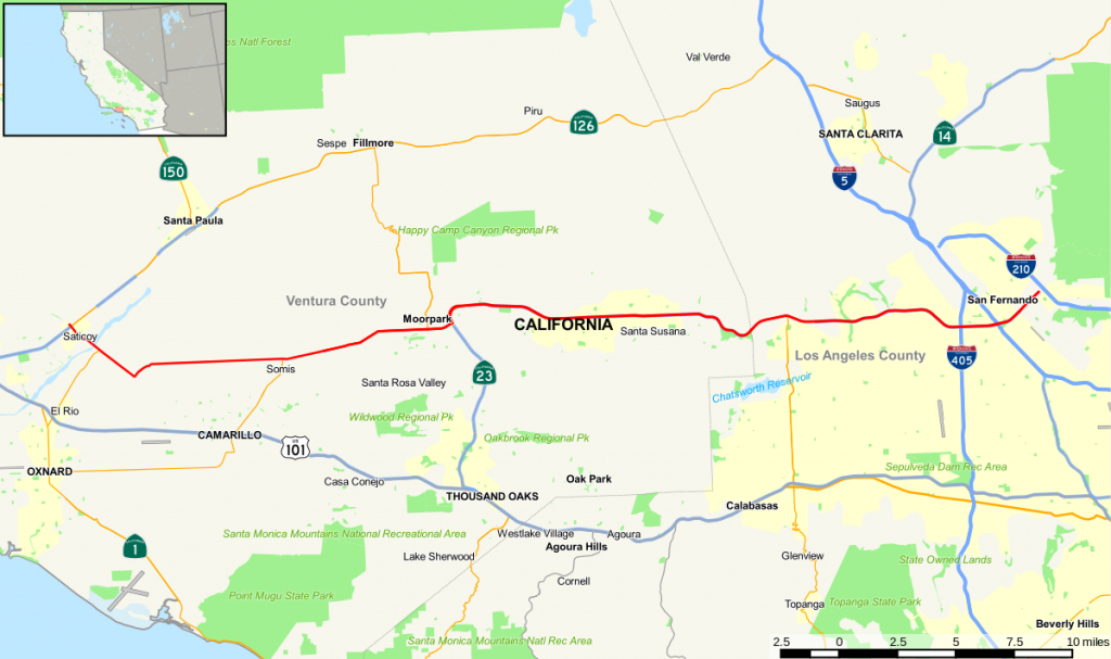 California State Route 118 - Wikipedia - Granada Hills California Map