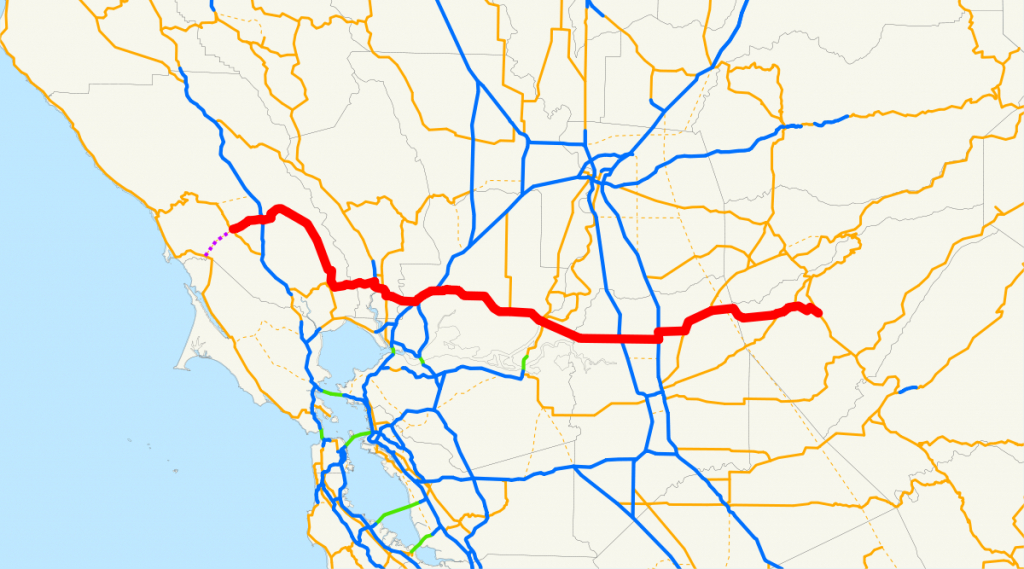 California State Route 12 - Wikipedia - California Truck Routes Map