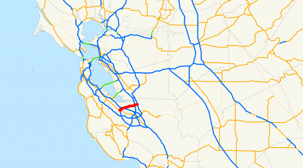 California State Route 237 - Wikipedia - Milpitas California Map
