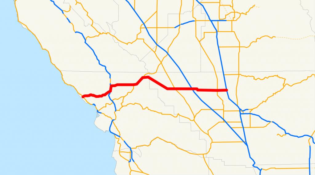 California State Route 46 - Wikipedia - Highway 41 California Map