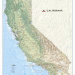 California State Wall Map   California State Map Pictures