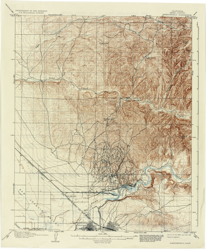 California Topographic Maps - Perry-Castañeda Map Collection - Ut - Usgs Maps California