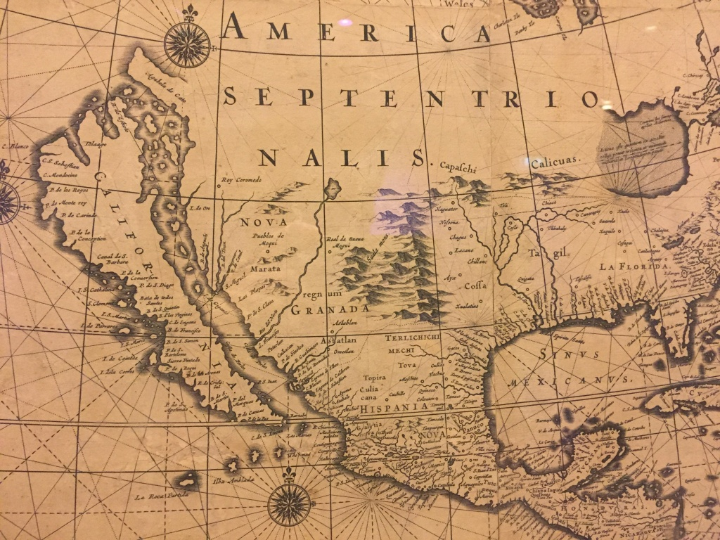California Was Drawn As An Island On Old Maps : Mildlyinteresting - California Map Old