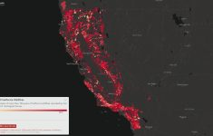 California's Wildfire History – In One Map | Watts Up With That? – Show Me A Map Of California Wildfires