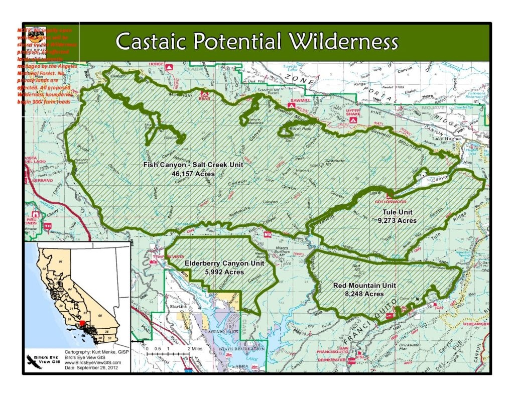 Calwild – Page 14 – California Wilderness Coalition - California Wilderness Map