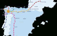 Printable Map Of Camino De Santiago