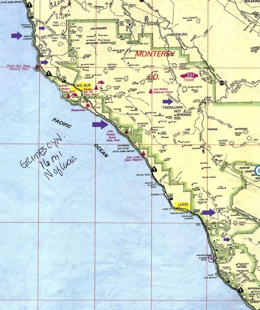 Campground Map California California State Map Campgrounds In Inside - California State Campgrounds Map