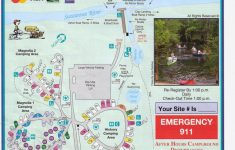 Campground Map – Manatee Springs State Park – Chiefland – Florida – Florida State Park Campgrounds Map