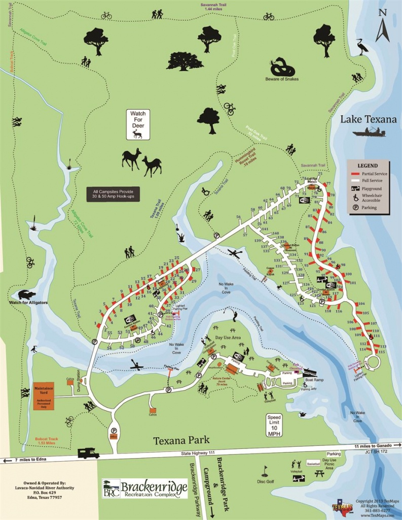 Campground Maps - Texas Campgrounds Map
