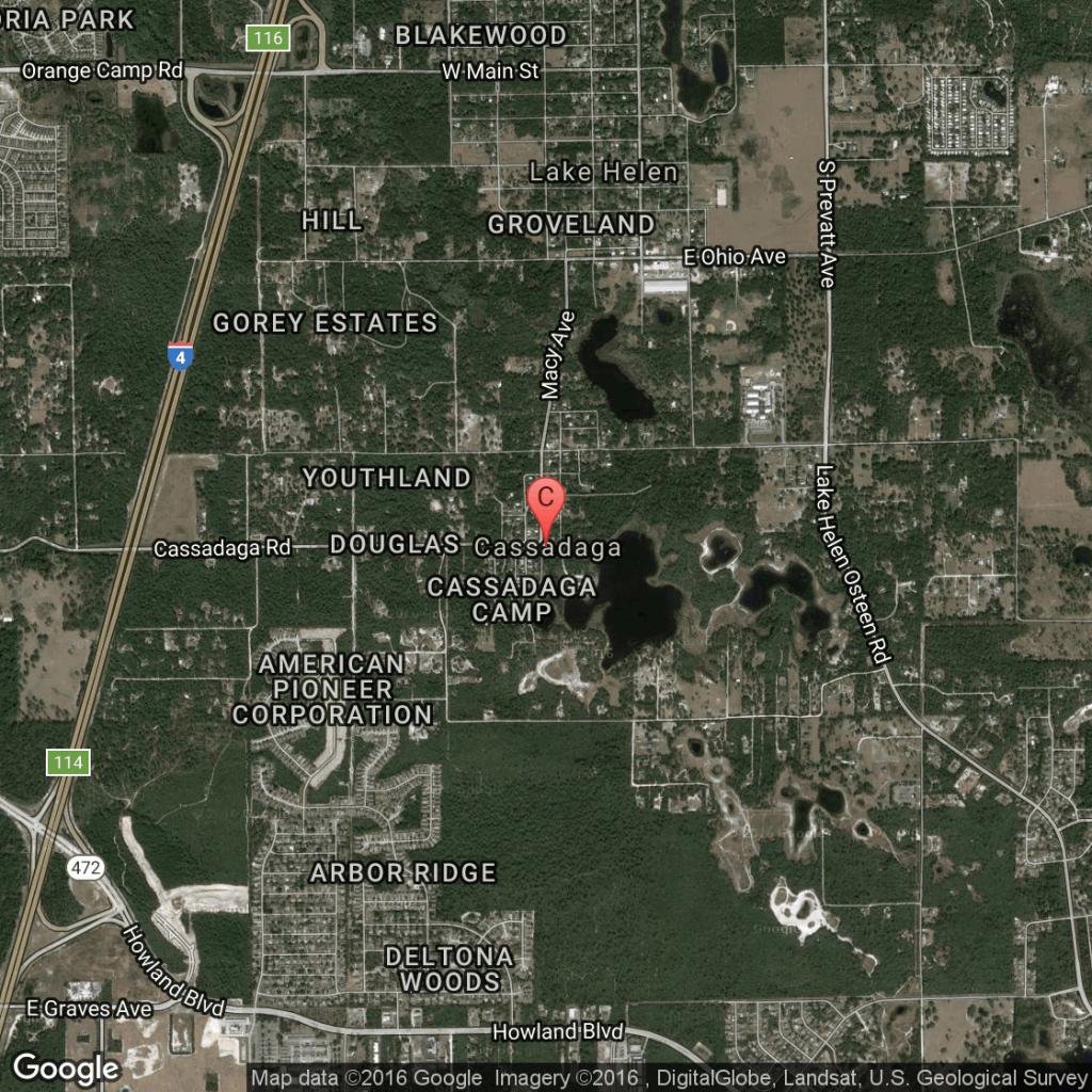 Camping In Cassadaga Or Deltona, Florida | Usa Today - Cassadaga Florida Map