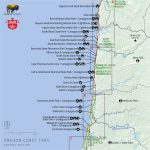 Camping Oregon Coast Map | Secretmuseum   Camping Central California Coast Map