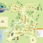 Campsite Map | Luna Sands Resort | Orange City, Fl   Florida Tent Camping Map