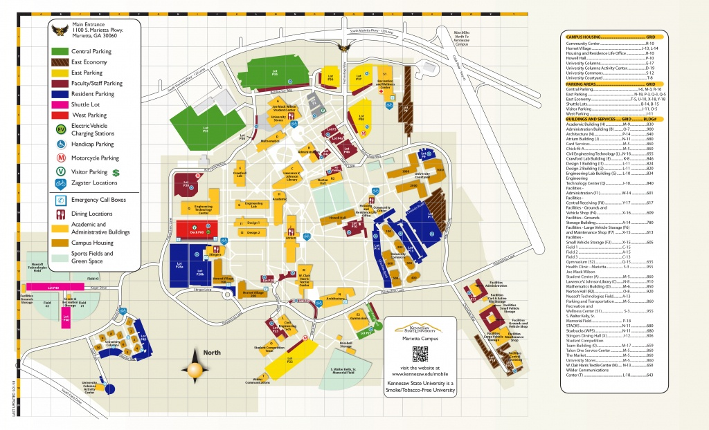 Campus Maps   Kennesaw State University - Texas Tech Housing Map