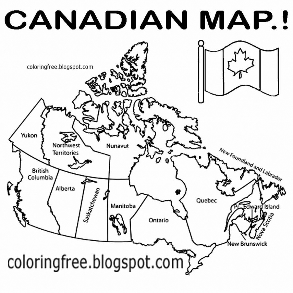 Canada Map Drawing At Paintingvalley | Explore Collection Of - Free Printable Map Of Canada For Kids
