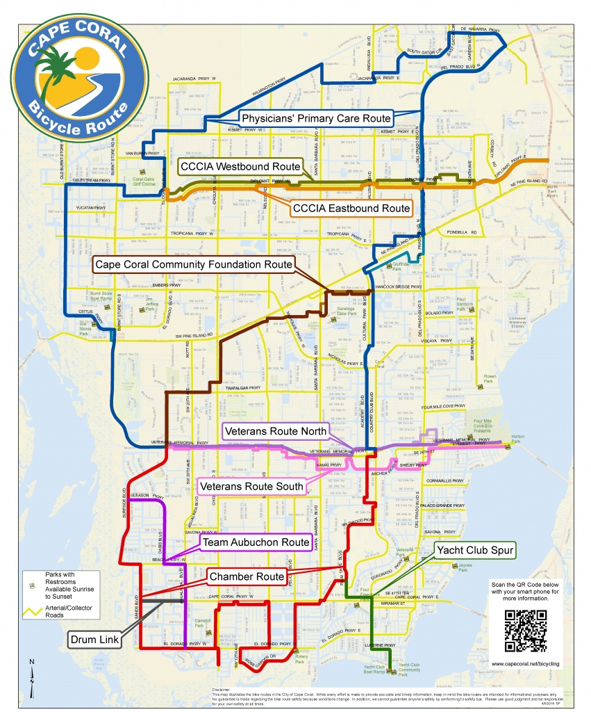 Cape Coral Bicycling Information For Visitors - Google Maps Cape Coral Florida