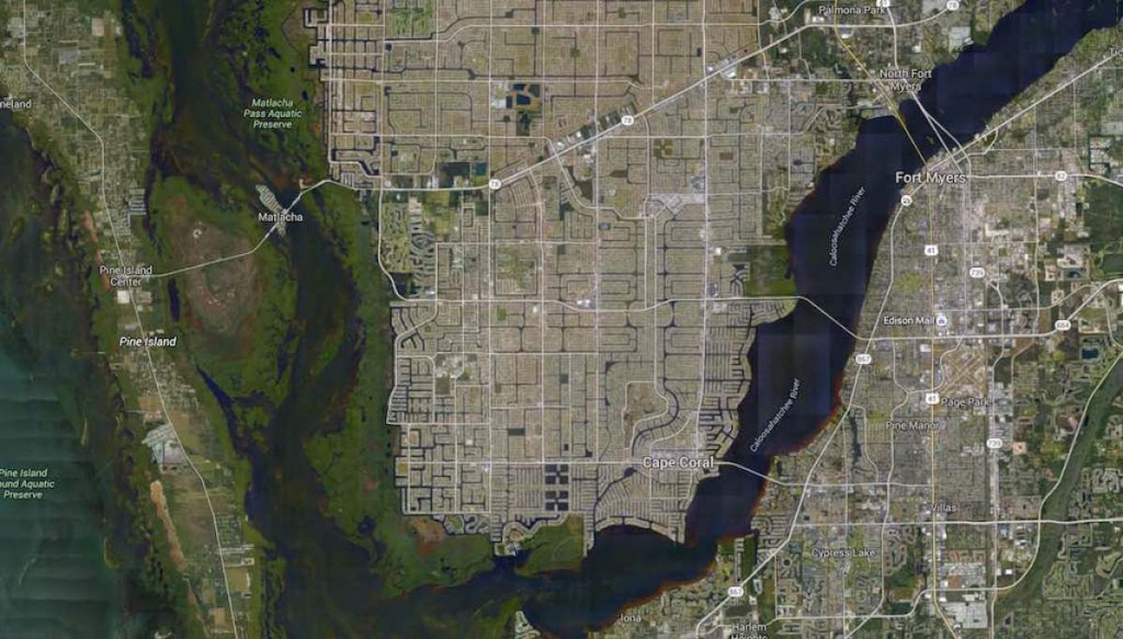 Cape Coral, Florida -Google Maps | America | Most Beautiful - Google Maps Cape Coral Florida