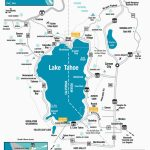 Casinos In Southern California Map Lake Tahoe On Map Of California   Casinos In California Map