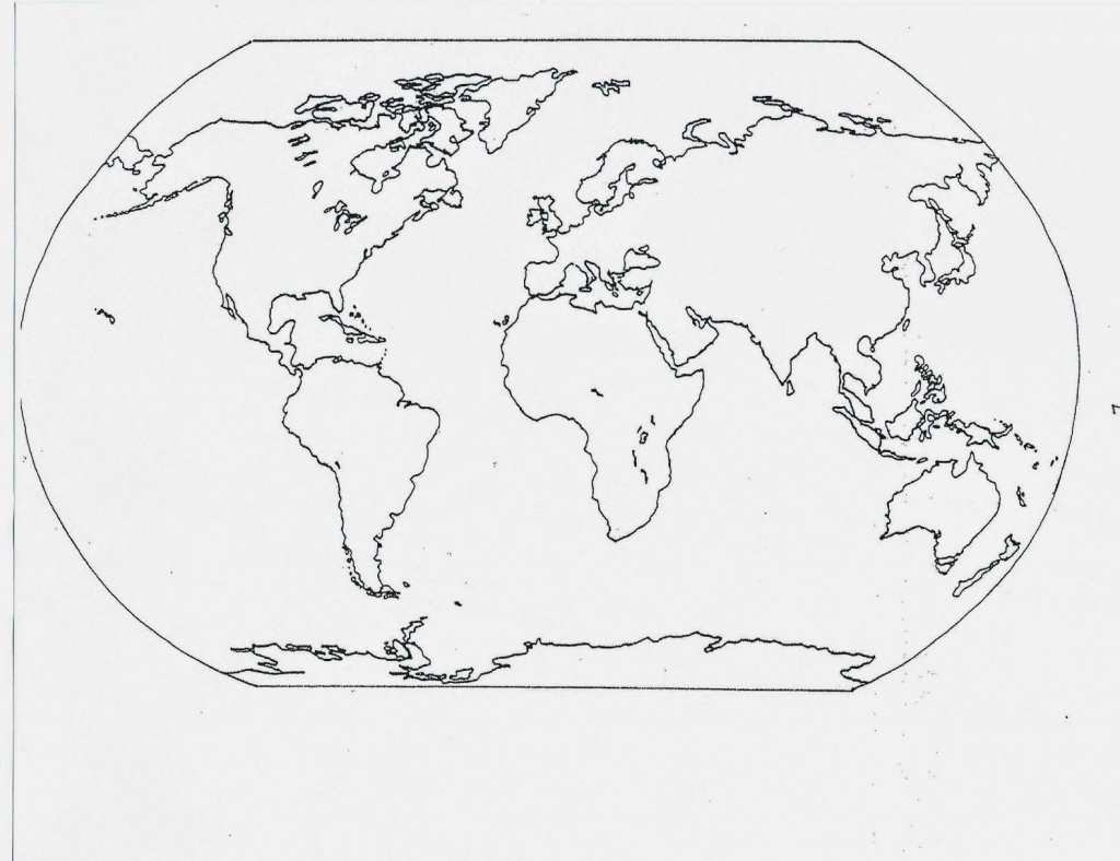 Catholic Schoolhouse: Year 3: Free Printable Blank Maps | Year 3 - Free Printable Map Of Continents And Oceans