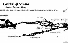 Caverns Of Sonora | Texas Speleological Survey | Tss | Cave Records – Caves In Texas Map