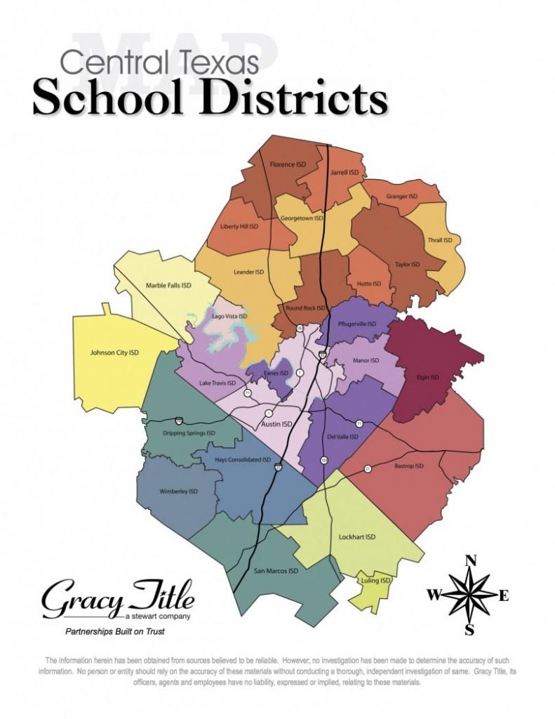 Central Texas School District Map - Cedar Park Texas Living - Texas School District Map By Region