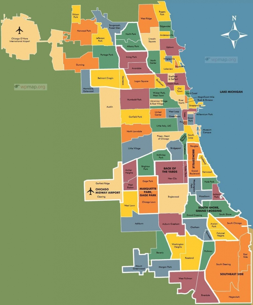 Chicago Neighborhood Map Page Map Pictures | Ux Compares King5 In - Printable Map Of Chicago Suburbs
