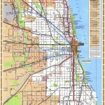 Chicago Train Map   Chicago Illinois • Mappery | Maps & Charts   Printable Map Of Chicago Suburbs