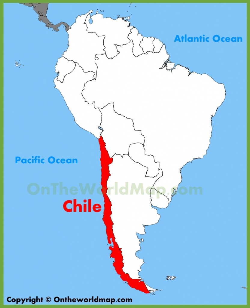 Chile Maps   Maps Of Chile - Printable Map Of Chile