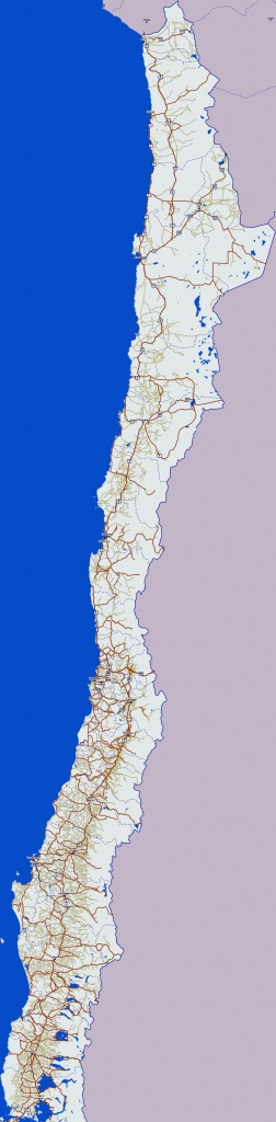 Chile Maps   Printable Maps Of Chile For Download - Printable Map Of Chile