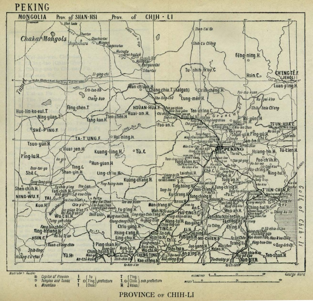 China Historical Maps - Perry-Castañeda Map Collection - Ut Library - Canton Texas Map