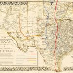Chisholm Pete Map 76 | Texas Historical Maps | Trail Maps, Cattle   Texas Cattle Trails Map