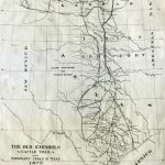 Chisholm Trail   Wikipedia   Texas Cattle Trails Map