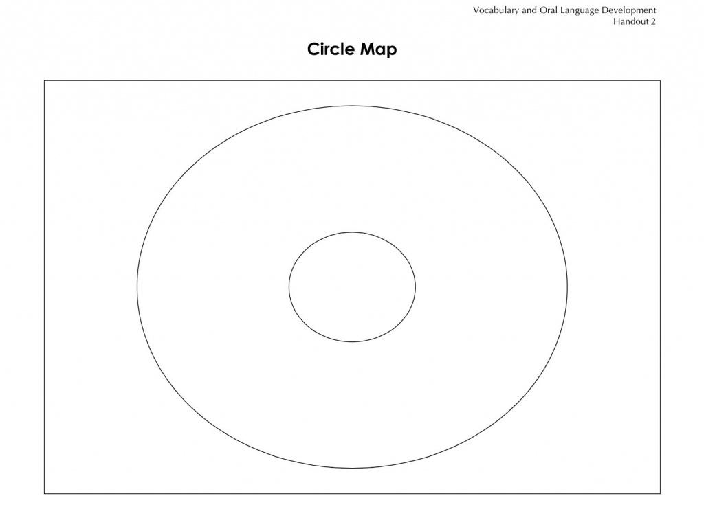Circle Map Template | Ageorgio - Free Printable Circle Map Template