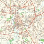 City Centre Detailed Street Travel Guide With Must See Places Sights   Cambridge Tourist Map Printable