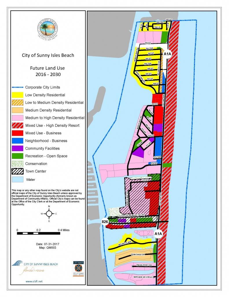 City Maps - City Of Sunny Isles Beach - Sunny Isles Beach Florida Map