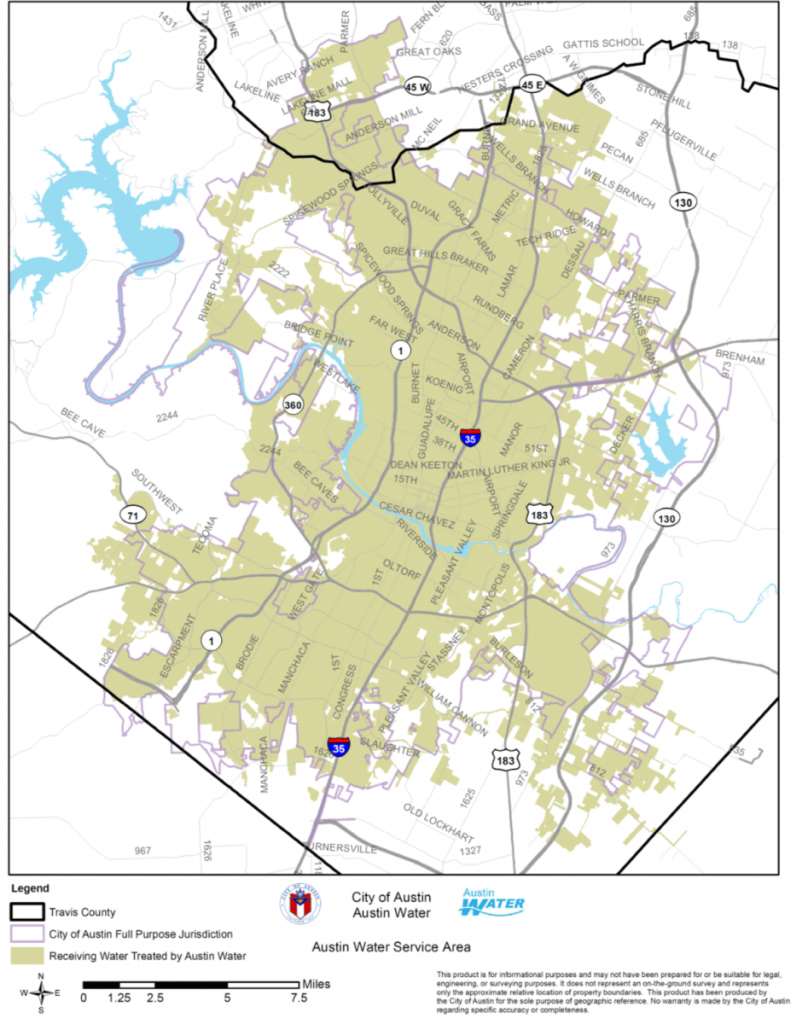 City Of Round Rock Water Customers Unaffectedaustin Boil Notice - Round Rock Texas Flood Map