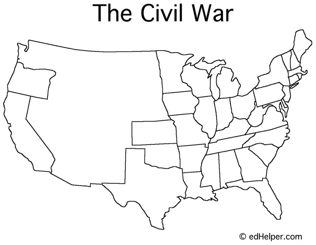 Civil War Timeline - Google Search | Social Studies | Map Worksheets - Printable Civil War Map