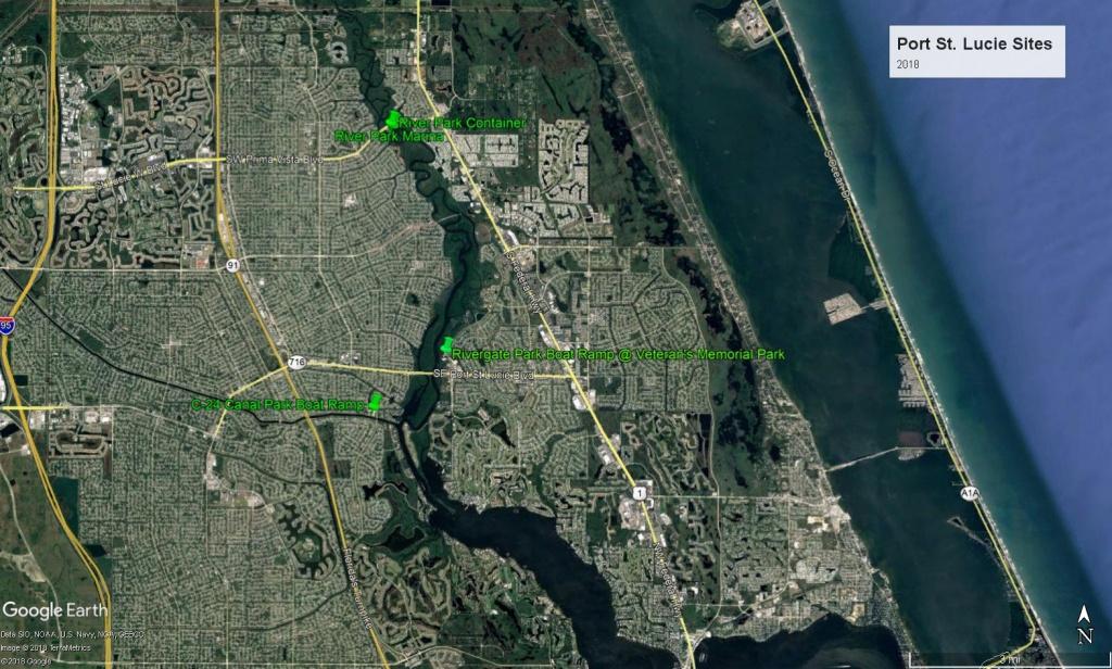 Cleanup Sites - Www.tcwaterwaycleanup - Google Maps Stuart Florida