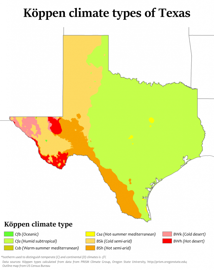 Climate Of Texas - Wikipedia - Live Map Of Texas