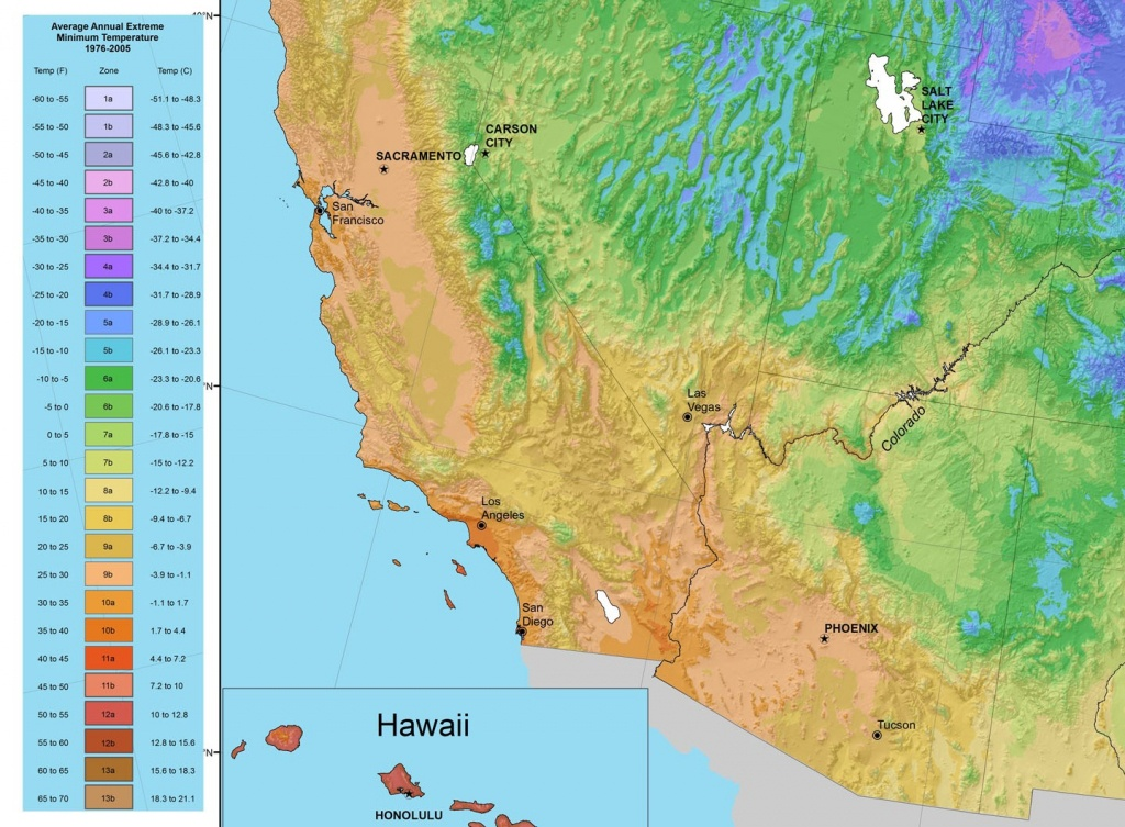 Climate Zones: What Can I Grow In My Yard?tastylandscape - Usda Hardiness Zone Map California