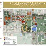 Cmc Campus Maps | Claremont Mckenna College   California Institute Of The Arts Campus Map