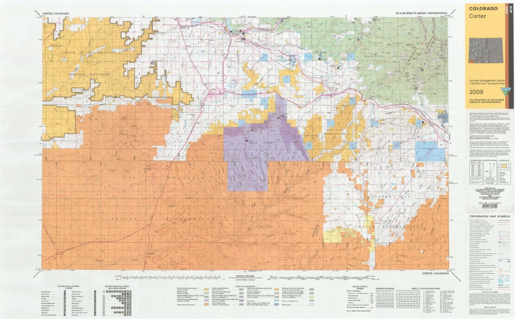 Co Surface Management Status Cortez Map | Bureau Of Land Management - California Blm Shooting Map