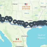 Coast To Coast Road Trip: The Best Of Everything Along I 10   California Roadside Attractions Map
