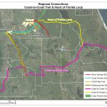 Coast To Coast Trail And Heart Of Florida Loop | 2035 Bicycle And   Central Florida Bike Trails Map